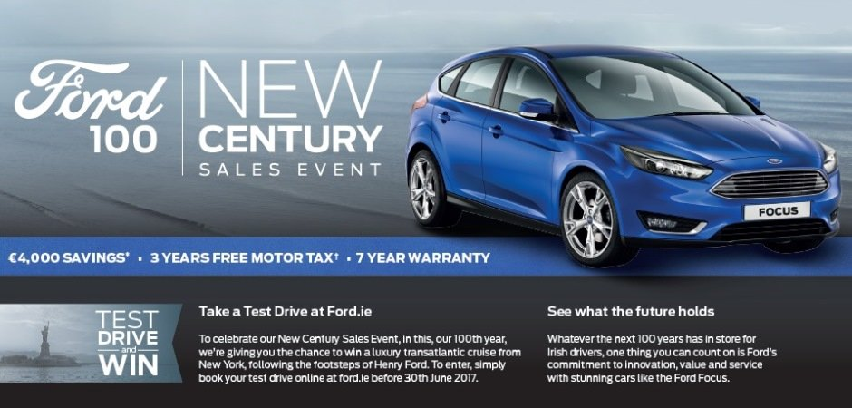 Ford New Century 172 Sales Event
