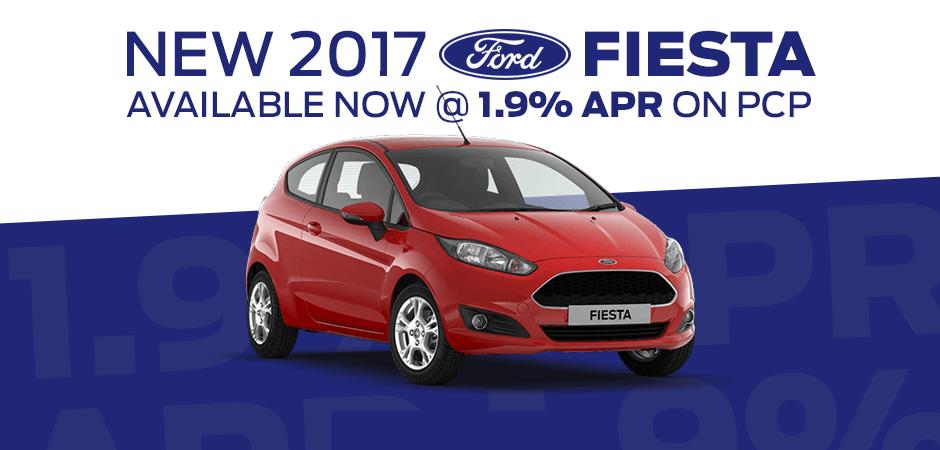 New 2017 Ford Fiesta